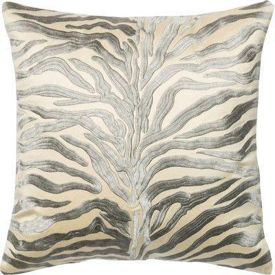 Loloi Rugs 100% Cotton Throw Pillow Color: Silver