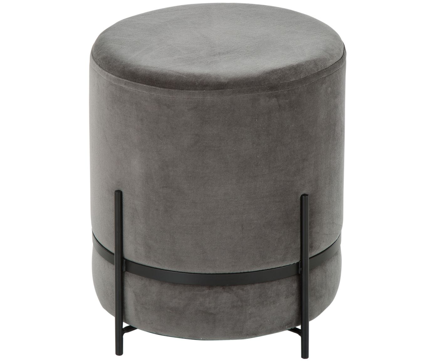 Sgabello in velluto haven sedie poltrone e divani
