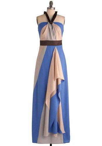 ModCloth - I think this is such a beautiful dress. The colors are perfect together and you can never go wrong with a dress that flows so well.