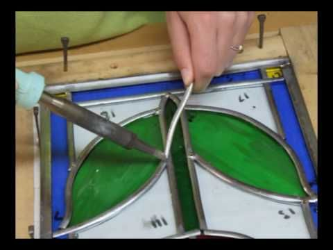 Basic stained glass instructional video. Anything to learn more about this wonderful art!