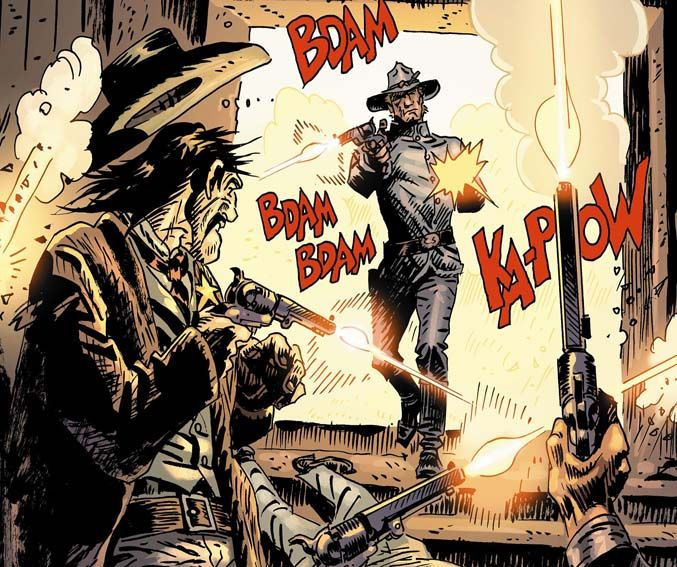 Fumetti Etruschi: Jonah Hex 27: Star Man (2008)   https://fumettietruschi.wordpress.com/2015/05/25/jonah-hex-27-star-man-2008/  #western #comic #comics #westerncomic #JonahHex #weirdwest
