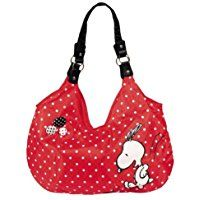 United Labels Peanuts 0109421 Snoopy - Bolso, 43 x 45 cm, color rojo