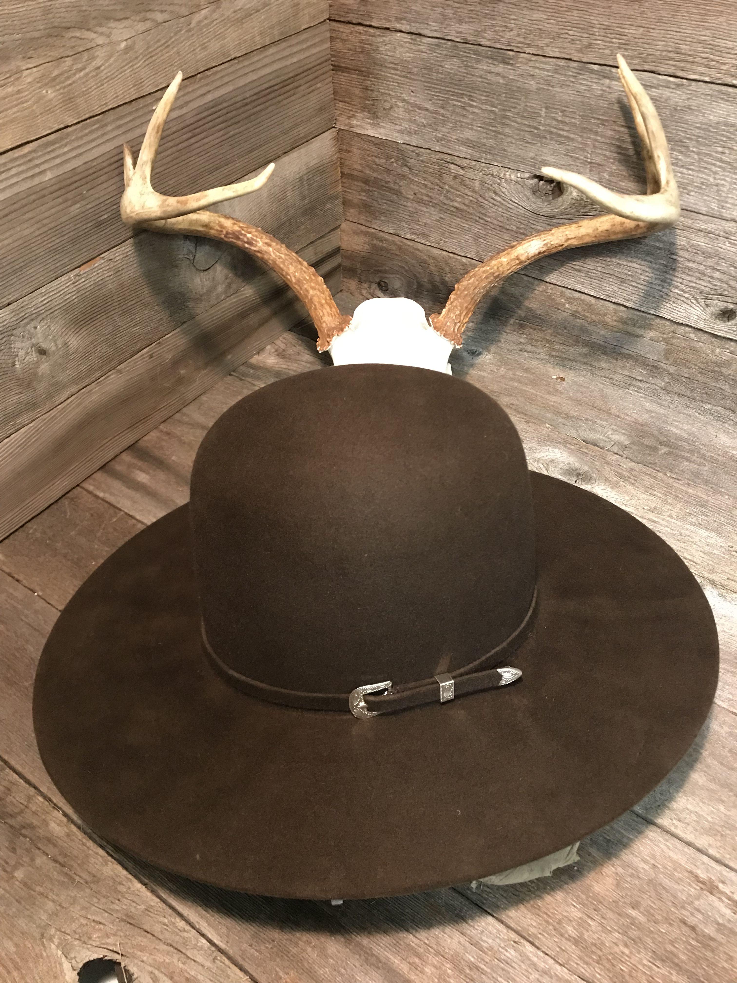 de05c78057071 Pin by Desperado Hat Works on Custom Made Western   Fedora Hats By ...
