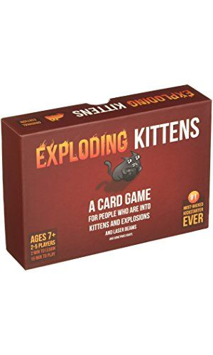 Exploding Kittens A Card Game About Kittens and