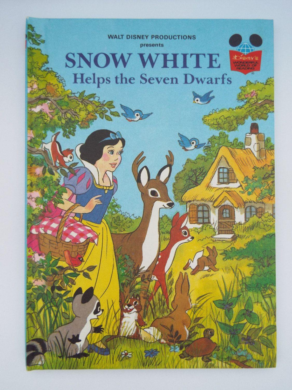 Vintage Disney S Wonderful World Of Reading Book Snow