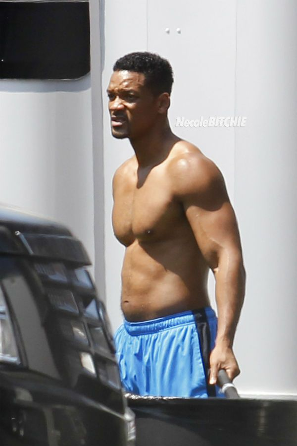 Will Smith training for new movie role