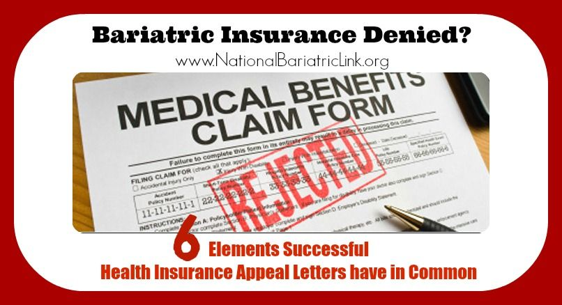 Bariatric Surgery Insurance Denied Six Elements All Successful