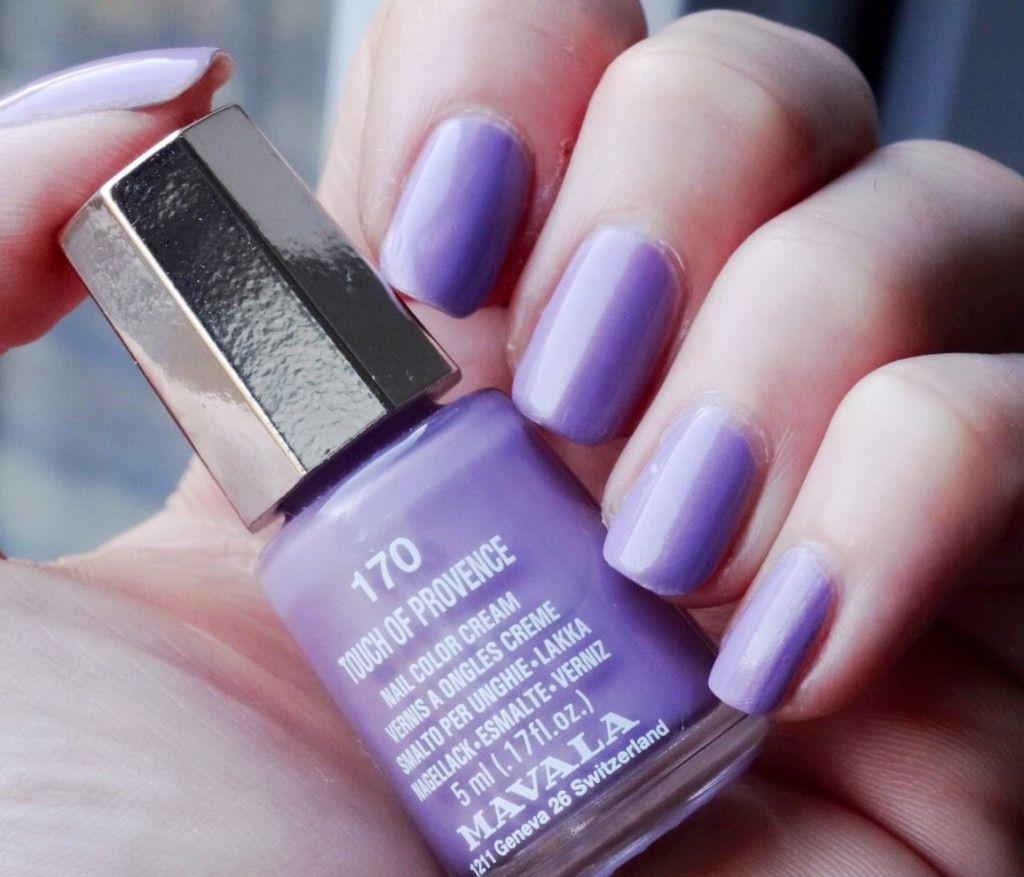 Lilac Nail Color: Mavala Lilac Nail Polish