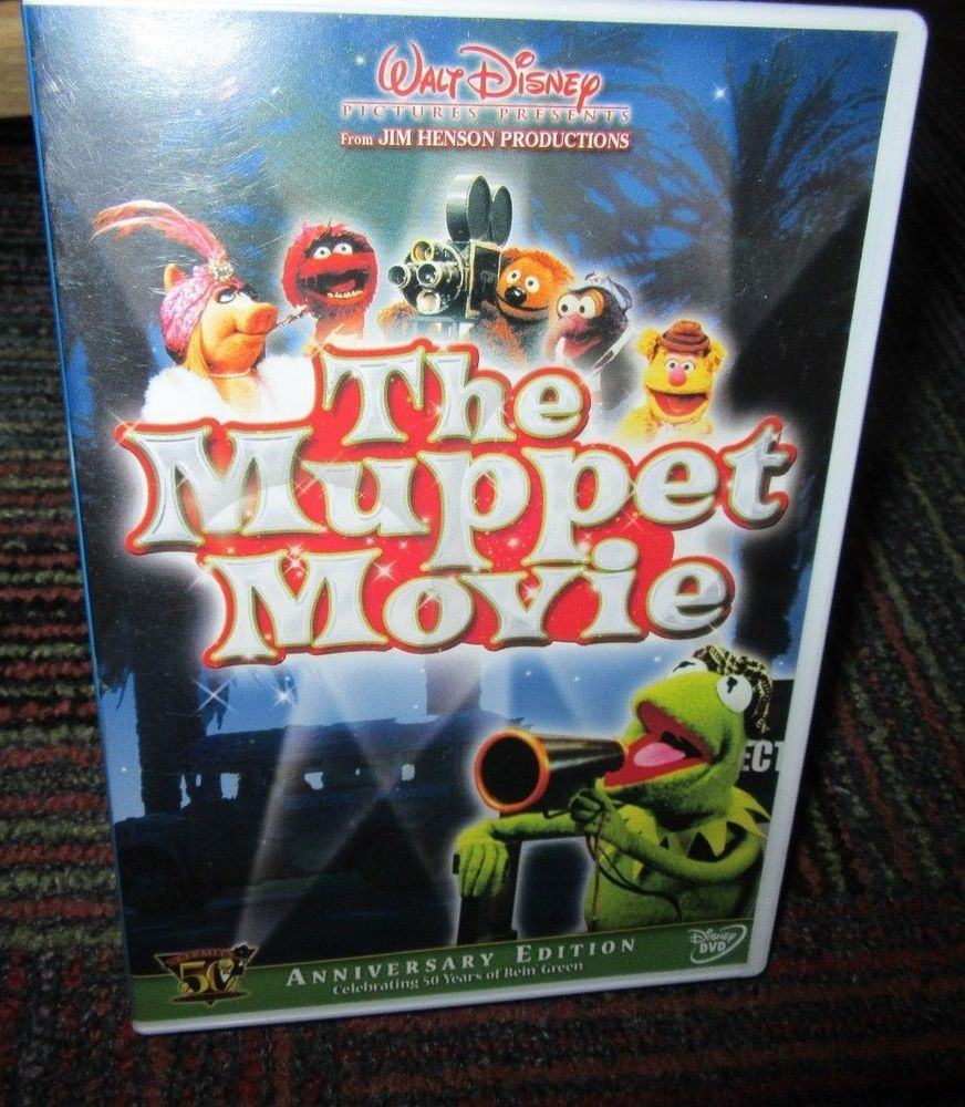 The muppet movie 50th anniversary edition dvd, kermit the