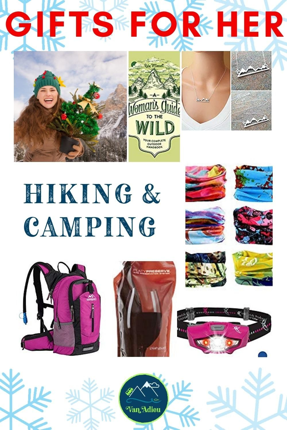 Hiking Camping Gift Ideas For Her Camping Gifts Hiking Gifts Hiking
