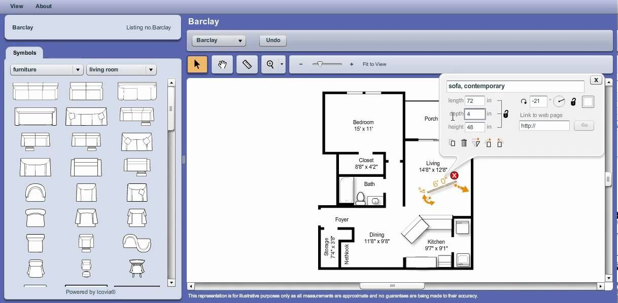 Icovia Interactive Floor Plan Tutorial
