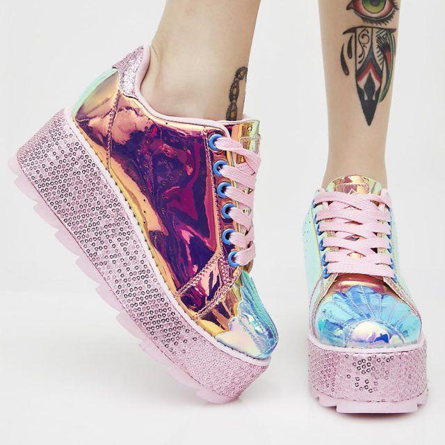 ab06197a2df Mermaid Lala Platform Sneakers  women ssneakers