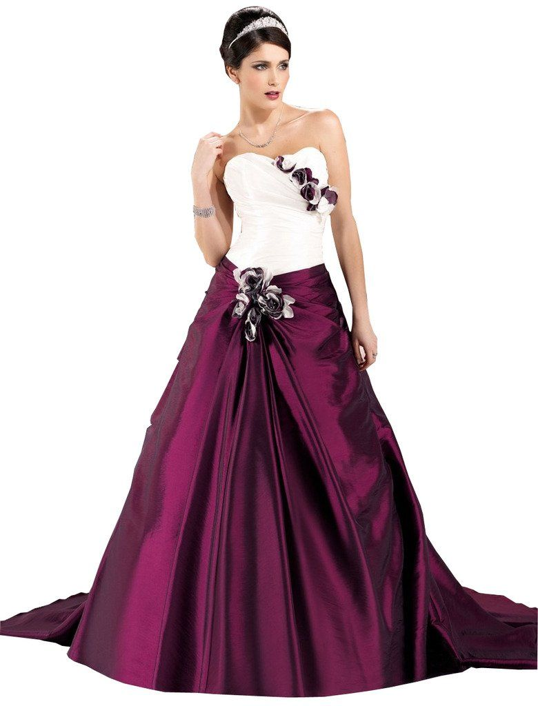 Joyvany tone sweetheart prom dresses pleated floral long pageant