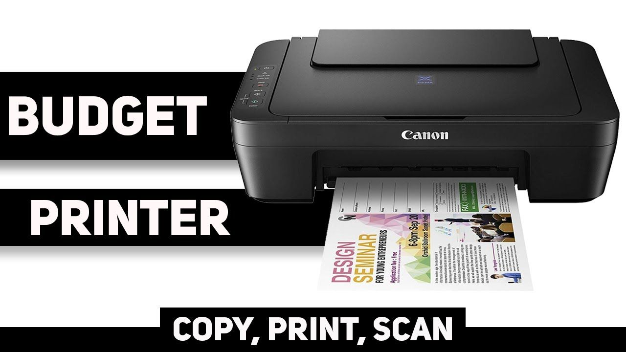 Best All In One Inkjet Printer At Rs 4000 Canon Pixma E3170 Review Hindi Printer Inkjet Printer Inkjet