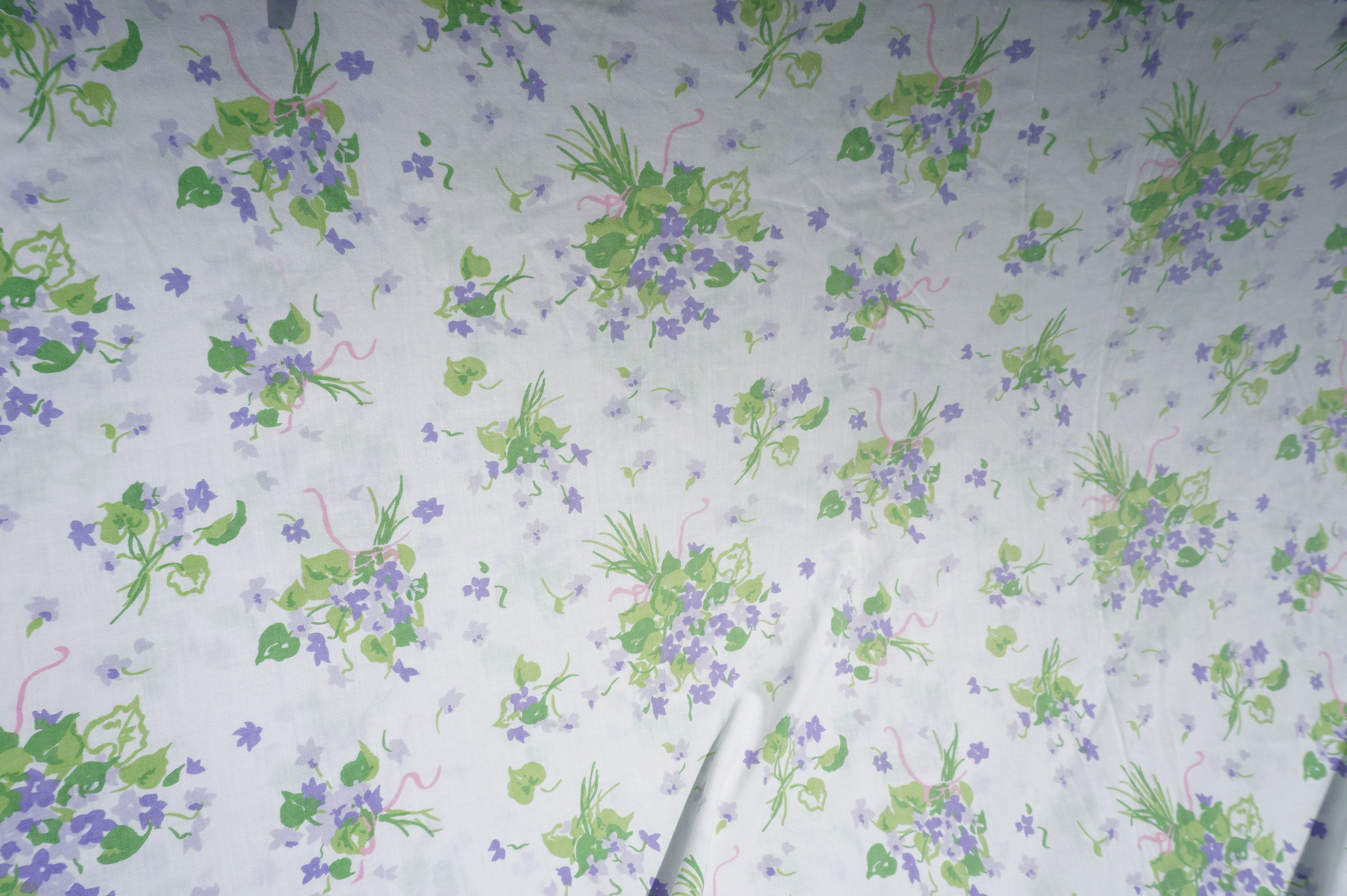 Stevens Utica Vintage Doublefull Fitted Sheet White Background With