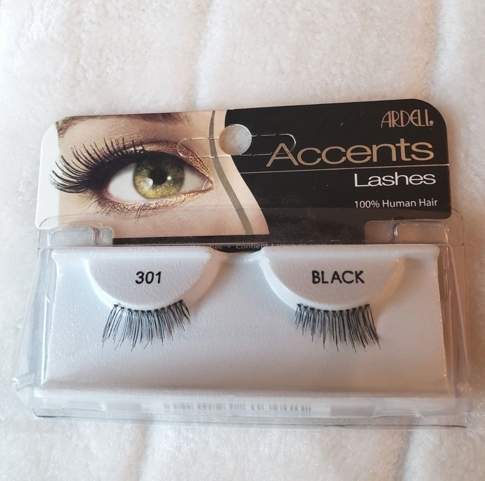 922406eb6ee Ardell 301 Accents 100% Human Hair Eyelashes (Black) #Ardell   Make up and  accessories   100 human hair, Hair, Eyelashes