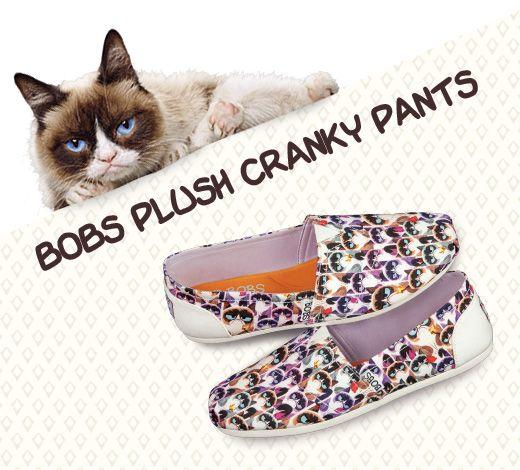 687d9b4e8ea12 BOBS Plush - Cranky Pants featuring Grumpy Cat | Stuff I Want in ...