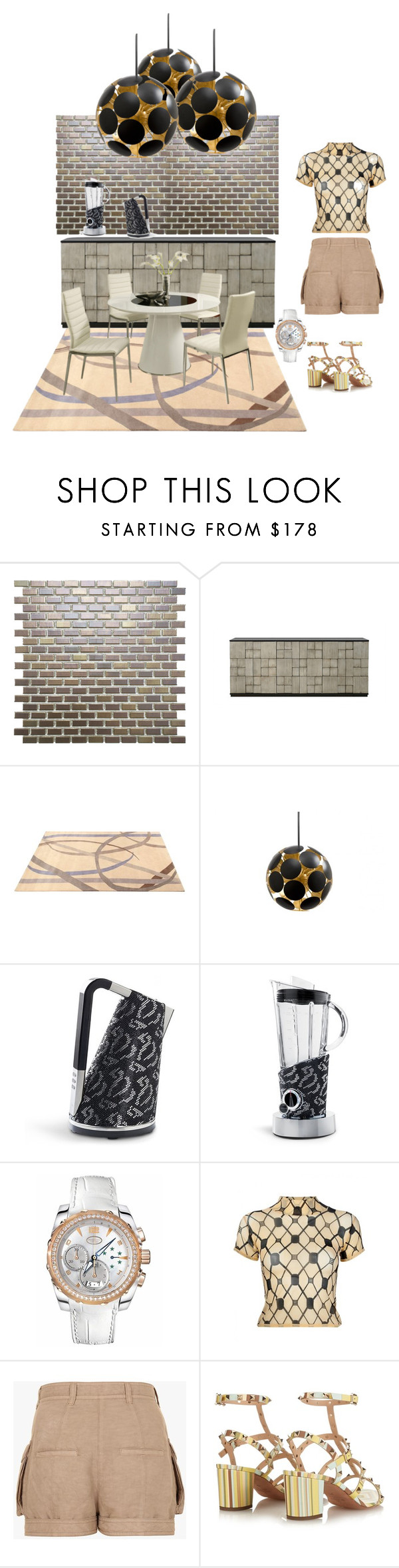 """""""Untitled #793"""" by aifosbr ❤ liked on Polyvore featuring interior, interiors, interior design, home, home decor, interior decorating, SomerTile, Redford House, ABC Italia and Jayson Home"""