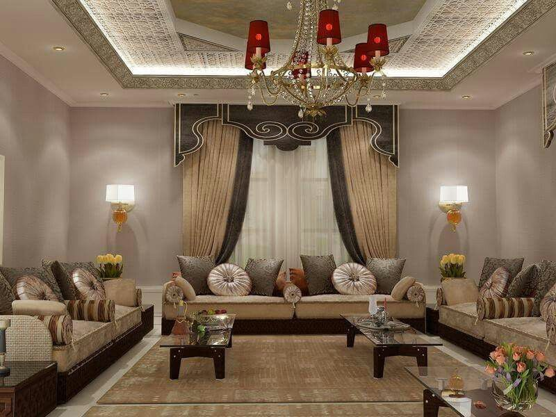 pinaicha rochdi on moroccan living room (salons marocains