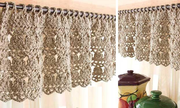 crochet pretty window topper patterns