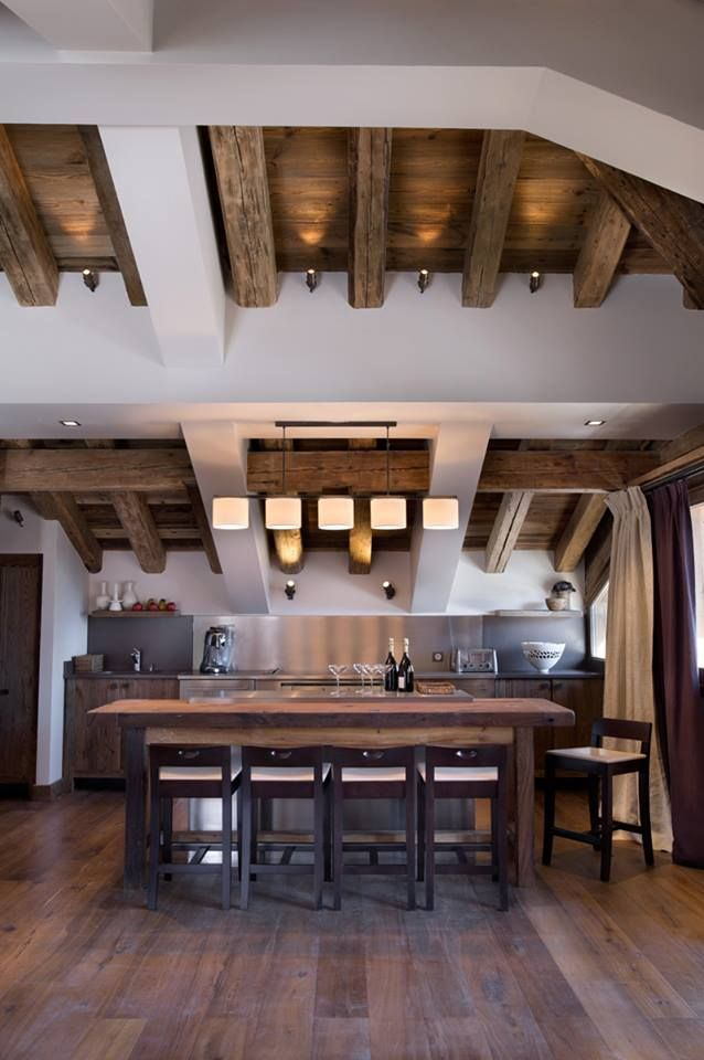 Le charme d\'un chalet à Courchevel 1850 | Wonderful Home | Room ...