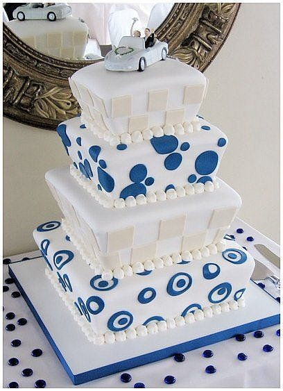 Unique Cake Ideas Design Of Royal Blue Wedding Cakes For Decoration