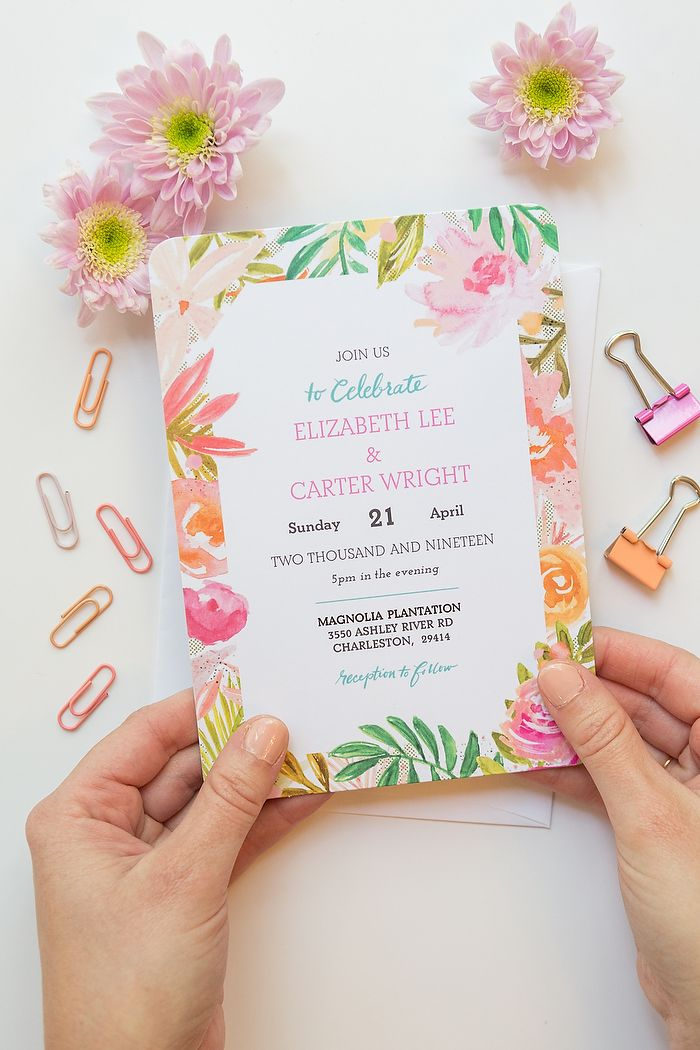 Diy Your Wedding Invitations With Mixbook Pinterest Weddings And