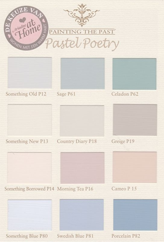 00 Schnellmenu Wandfarbe Painting The Past Pastel Paint Colors