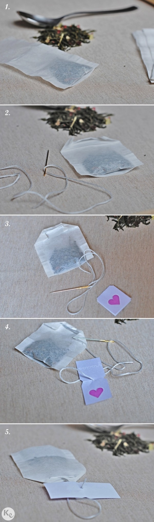 Diybolsitas de té personalizadasdetalle invitadoscustom tea bag
