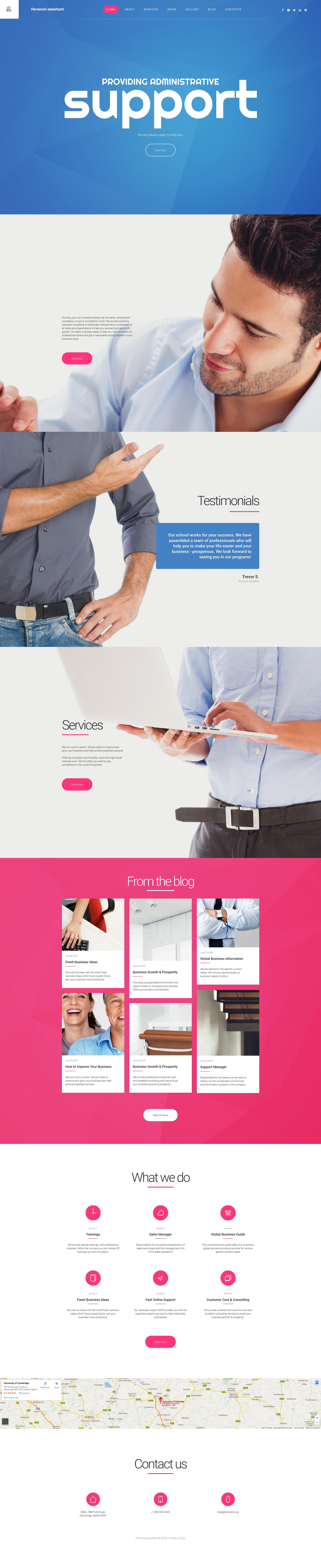 Business Responsive Moto Cms 3 Template Uiux Design Pinterest