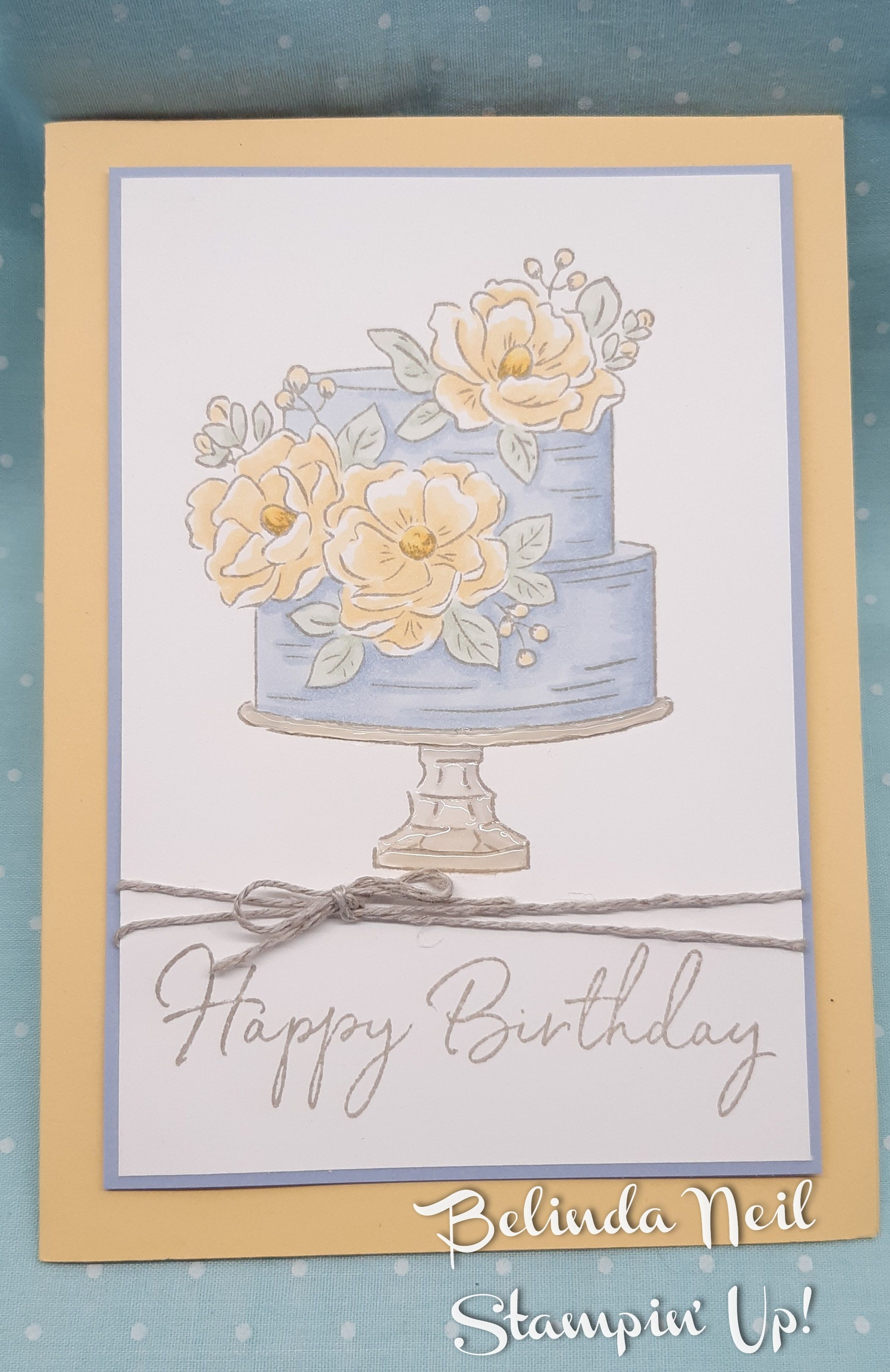 """Happy Birthday To You Stampin"""" Up! in 2020 Happy"""