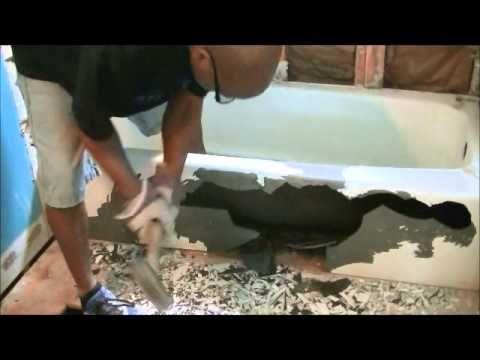 How To Remove Cast Iron Bath Tub   YouTube Removing Bathtub, Tub Remodel,  House