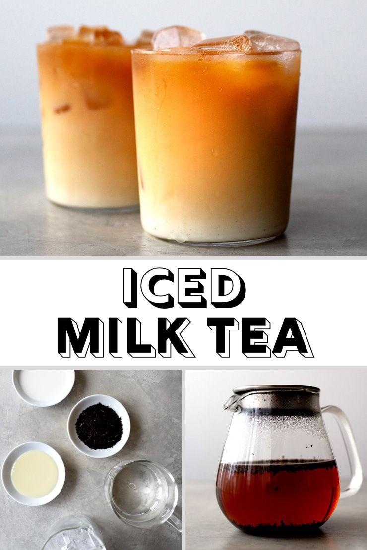 Iced Milk Tea Milk Tea Recipes Ice Milk Tea Recipes
