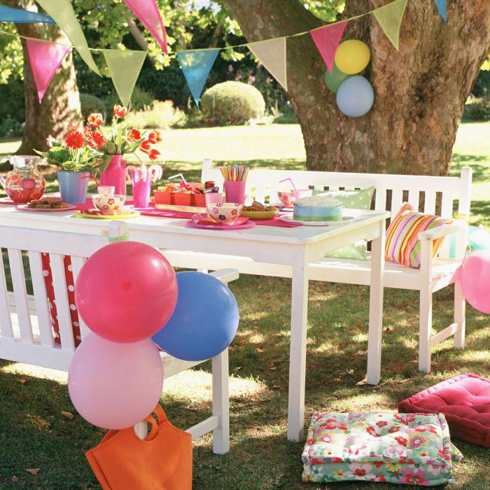▷ 1001 + Ideen für Gartenparty Deko zu jeglichen Anlässen