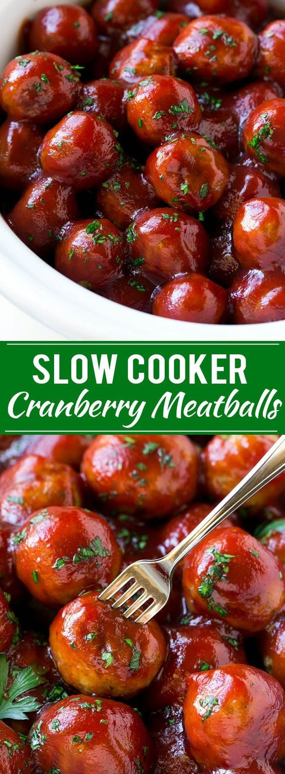 Photo of Cranberry Meatballs (Slow Cooker)