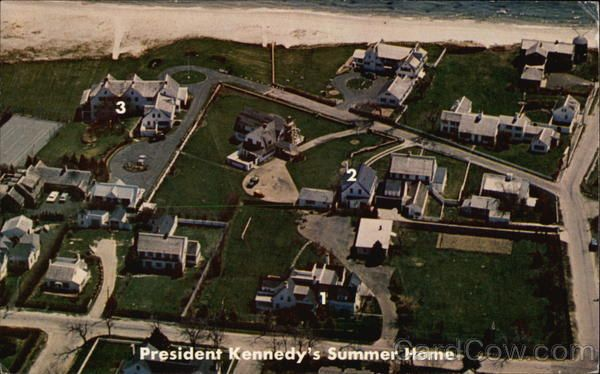 The Kennedy Estate; President Kennedy's summer home