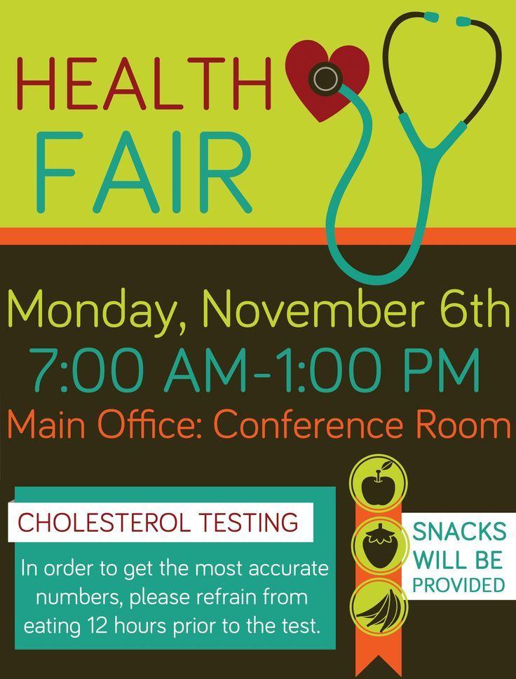 Company Health Fair Flyer Graphic Design  Flyers