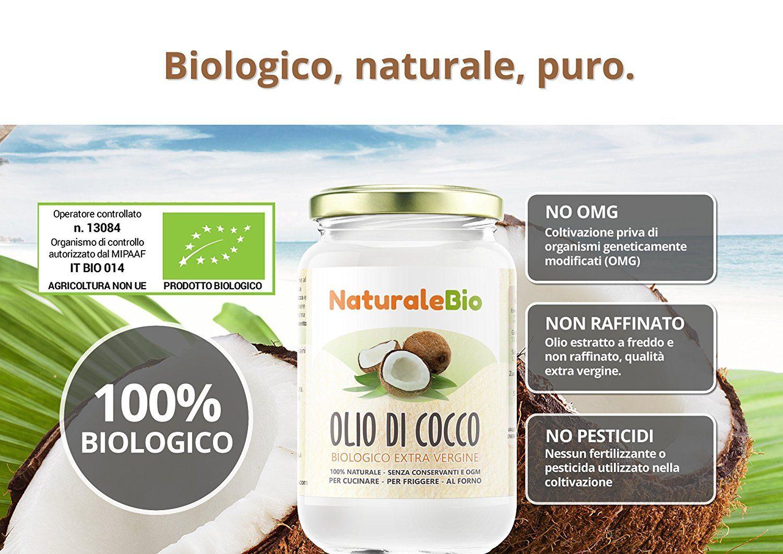 olio extra vergine di cocco per dimagrire