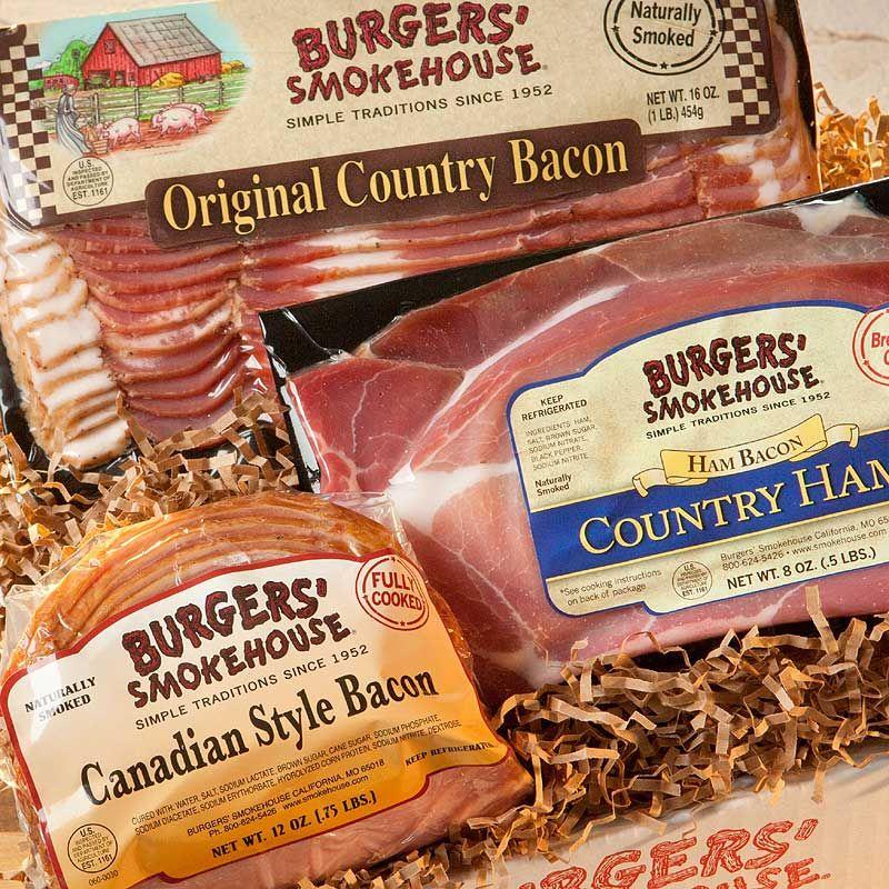 Bacon Sampler #gift #bacon #BurgersSmokehouse