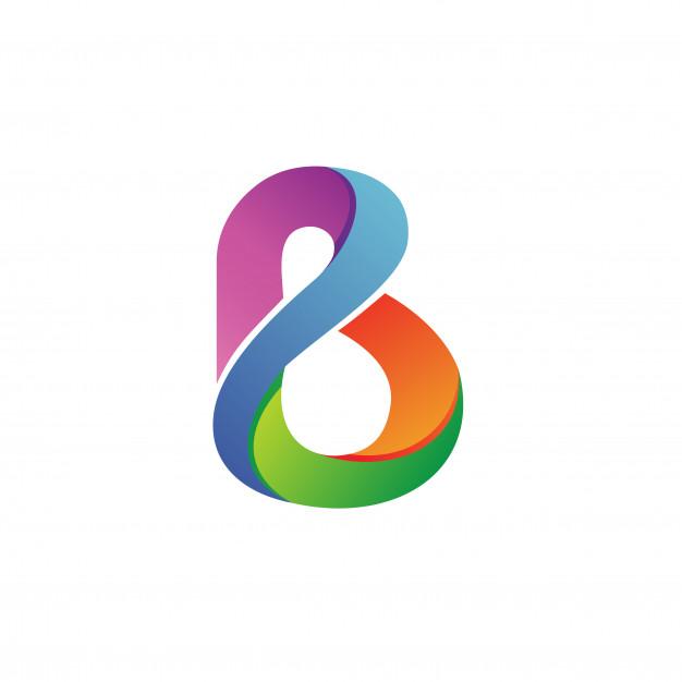 Letter B Logo Vector Logo Design Art Letter Logo Inspiration Letter Logo Design