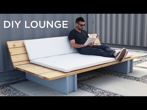 5 Diy Outdoor Lounge Sofa Youtube Outdoor Sofa Diy Outdoor Sofa Cushions Lounge Sofa