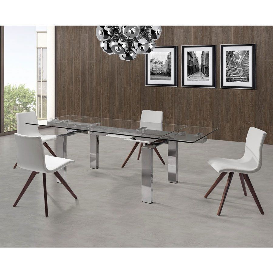 Cuatro Modern Extension Dining Table by Whiteline in 2020