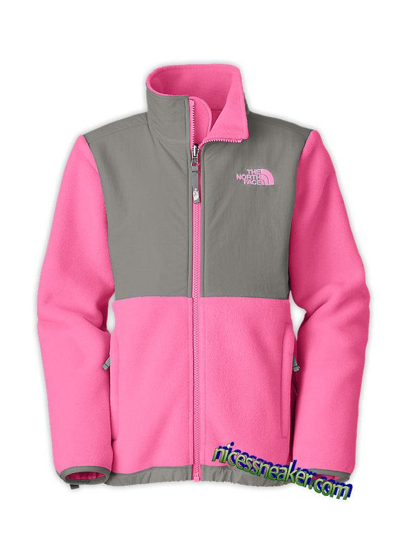 895a092dc943 Save Up To 63% Womens The North Face Denali Fleece Jacket Ruffle Pink  Metallic Grey  Pink  Womens  Sneakers