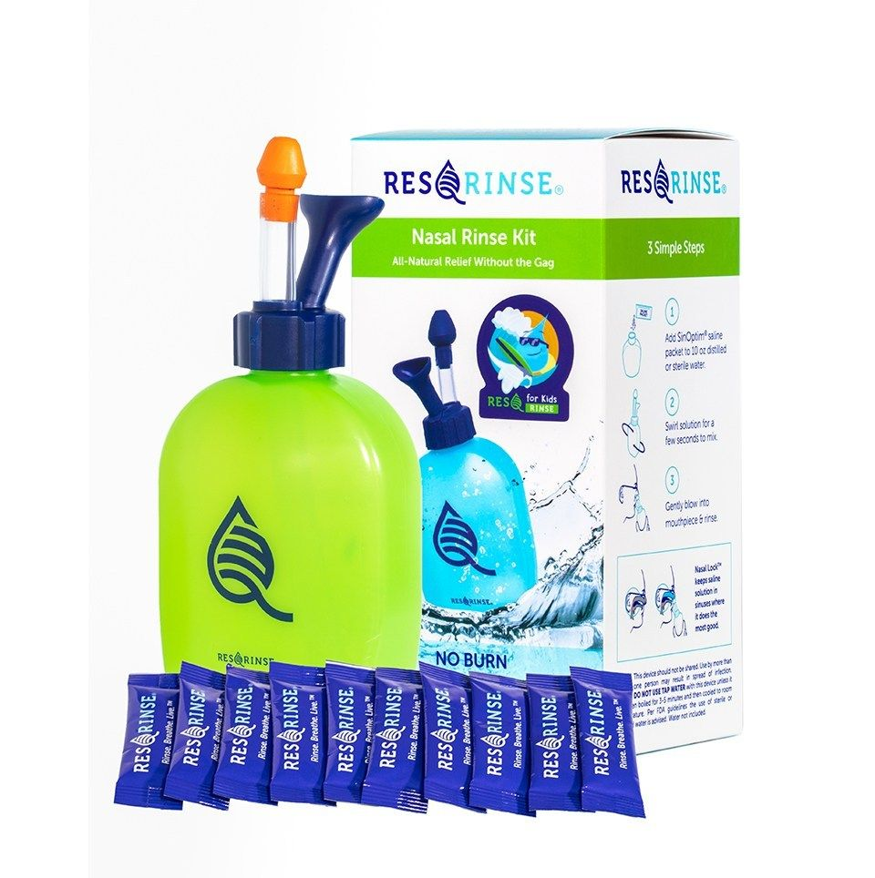 The Newest Nasal Rinse Solution Nasal wash, Sinus