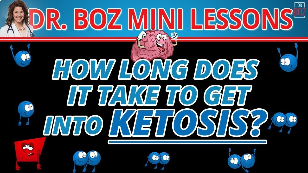The Fastest Way To Get Into Ketosis! Dr. Boz Ketosis