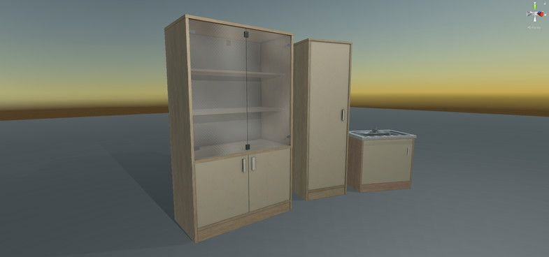 Medical Cupboard Ad 3d Cupboard Medical Furniture Props Medical