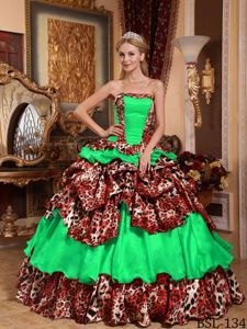 Image result for bad quinceanera dresses animal print  3ecd7acc6