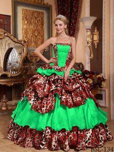 Image result for bad quinceanera dresses animal print  c9fc4f137