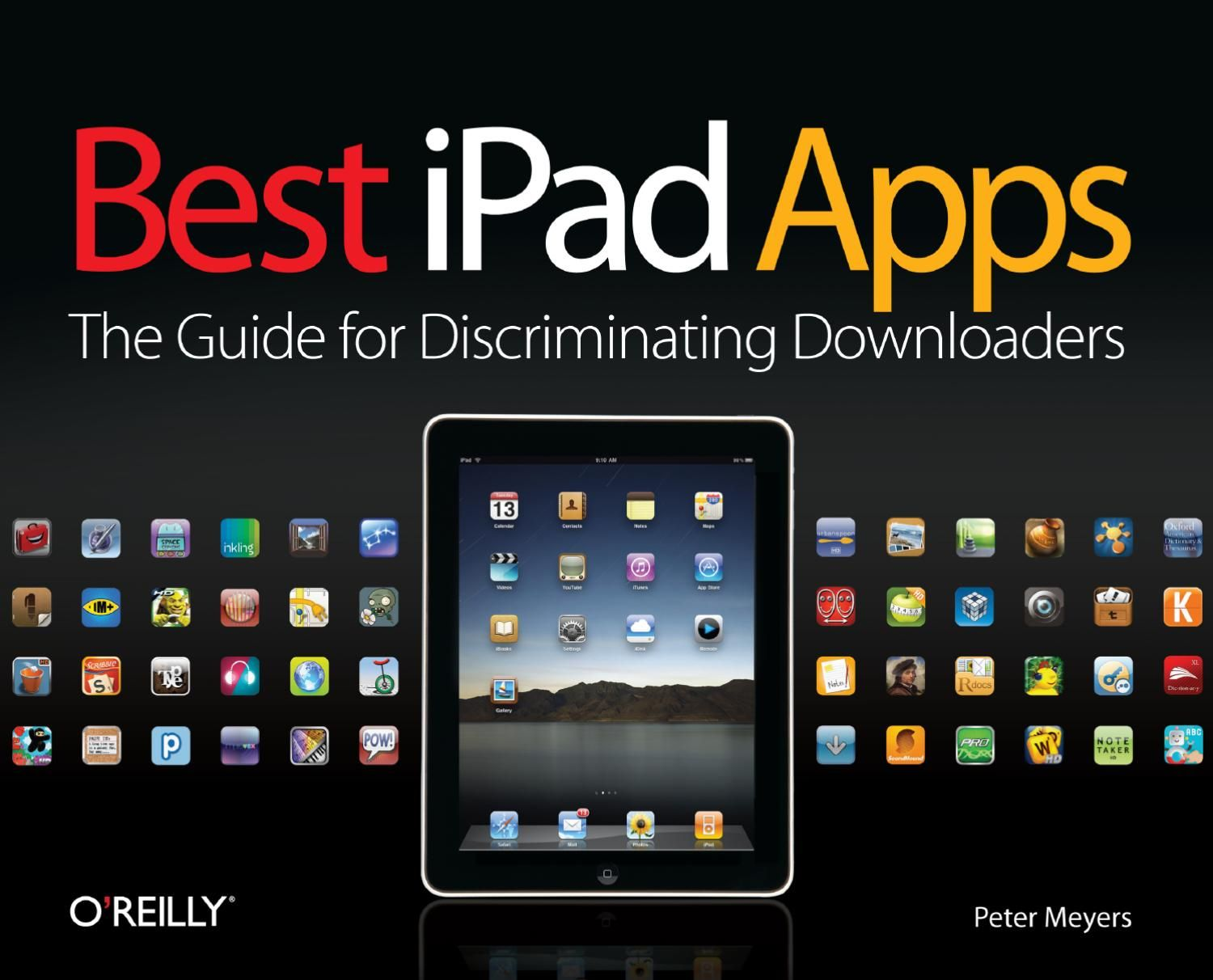 O'REILLY Best iPad Apps (With images) Best ipad, Ipad