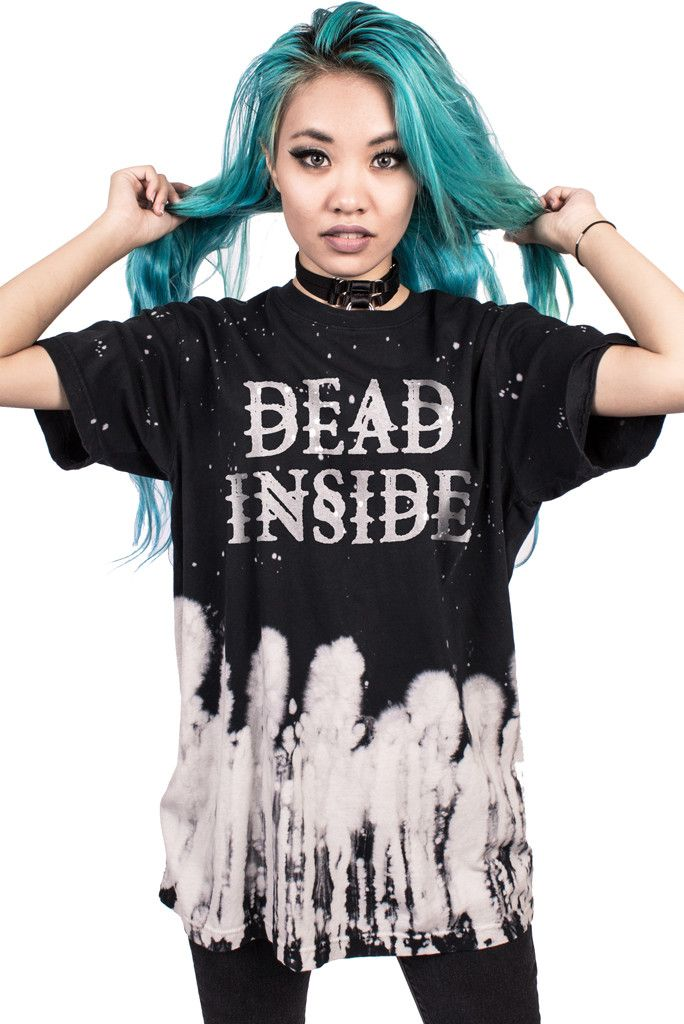 DEAD INSIDE - UNISEX TIE-DYE
